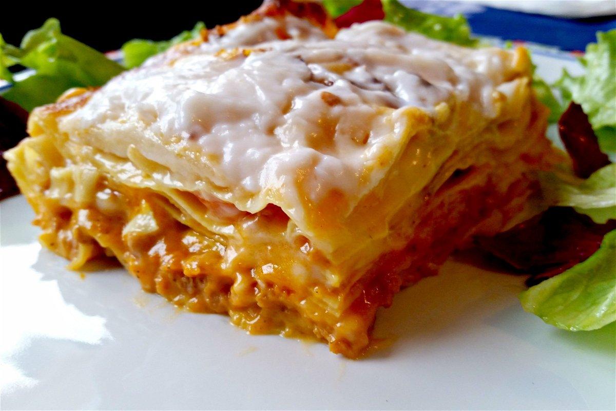 Ricetta Lasagne Vegane.Lasagne Vegane Con Ragu Di Soia Fidelity Cucina