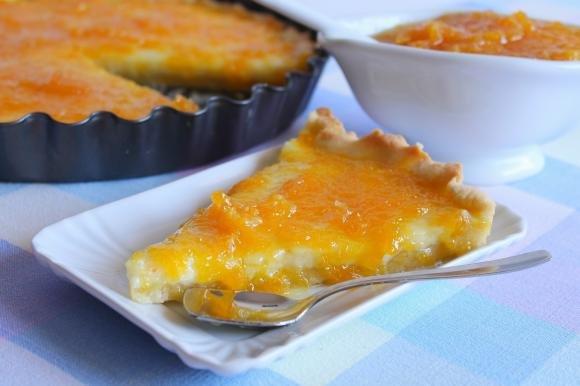 Orange Tart con crema pasticcera