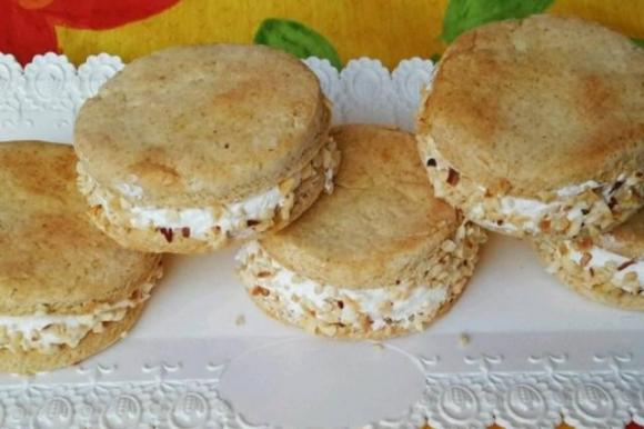 Gelato biscotto al cocco