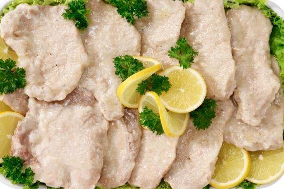 Scaloppine di maiale al limone