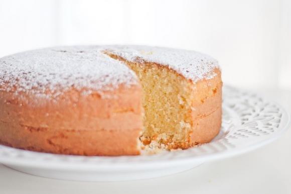 Torta margherita al limone