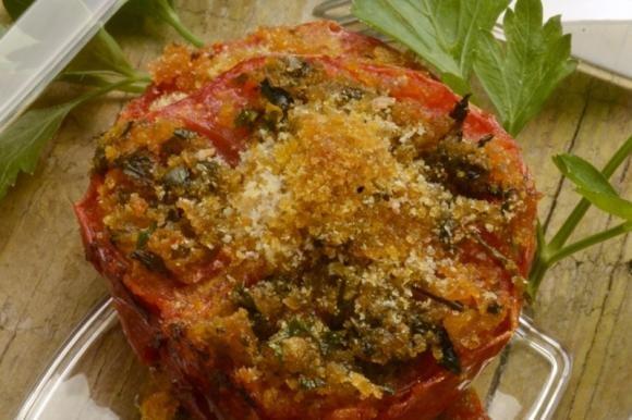Pomodori gratinati al parmigiano