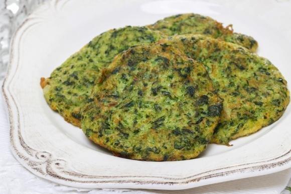 Frittelle di spinaci