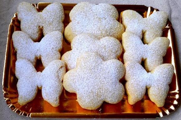 Biscotti semi integrali con panna Bimby