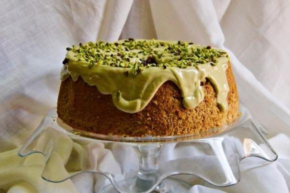 Chiffon cake al pistacchio