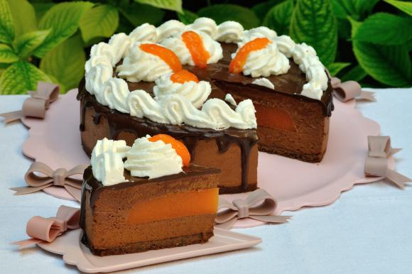 Torta mousse Sacher