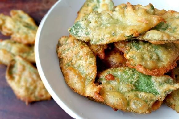 Salvia fritta in pastella senza glutine