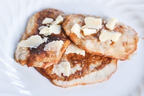 Scaloppine con aceto balsamico e Parmigiano Reggiano