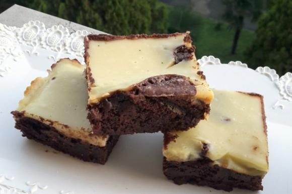 Brownies cioccolato e ricotta