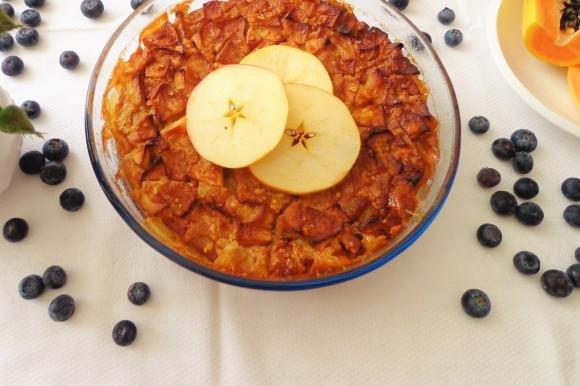 Frittata dolce con le mele