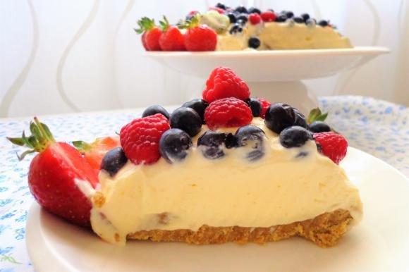 Cheesecake al semifreddo di ricotta