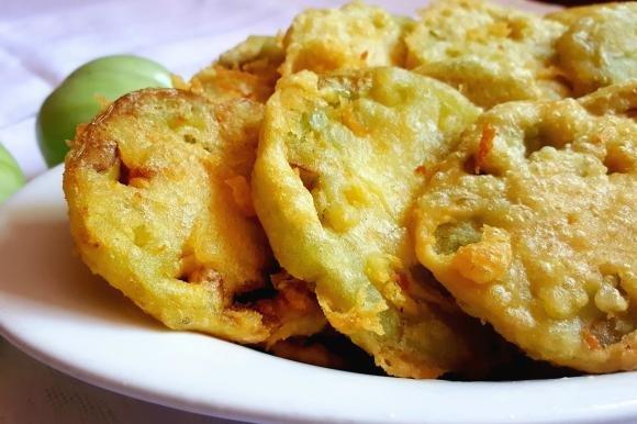 Pomodori verdi fritti senza glutine
