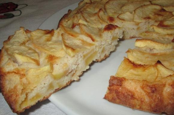Torta di mele light senza glutine e lattosio