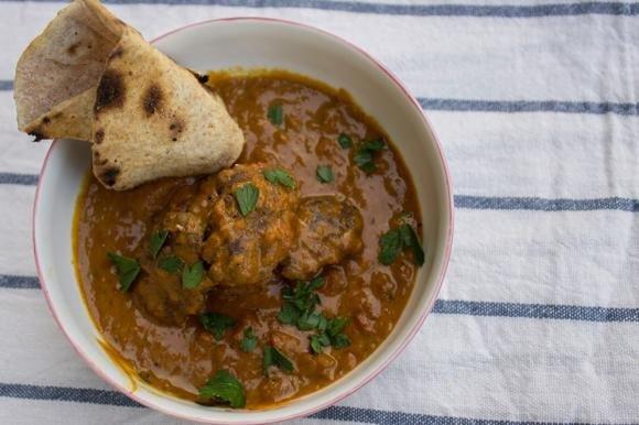 Polpette Kofta di manzo al curry