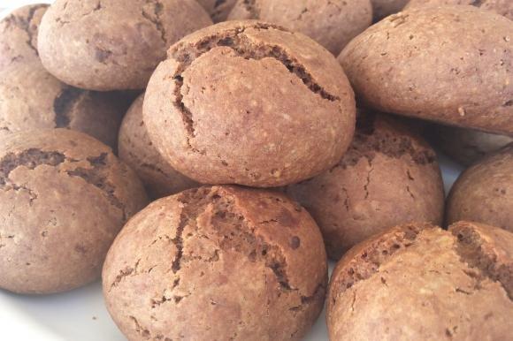 Biscotti al cioccolato fondente senza burro