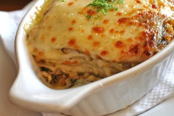 Lasagne con zucchine ai quattro formaggi