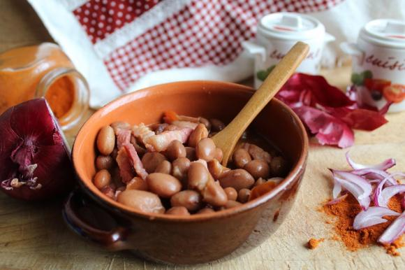 Zuppa di fagioli alla transilvana