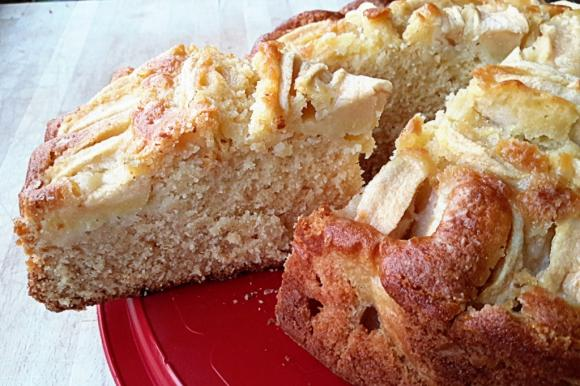 Torta nordica di mele e zenzero Bimby