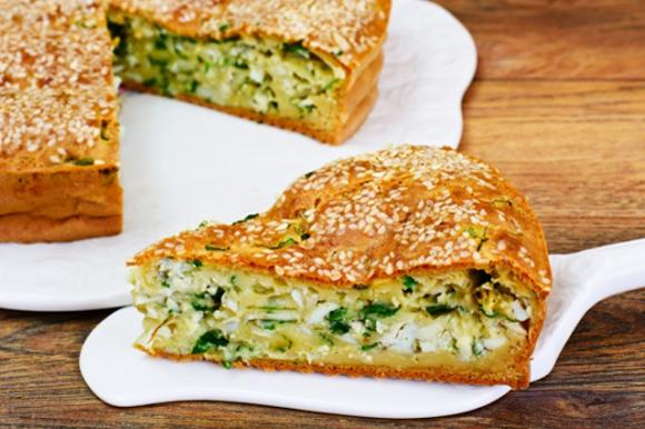 Torta 7 vasetti alle zucchine