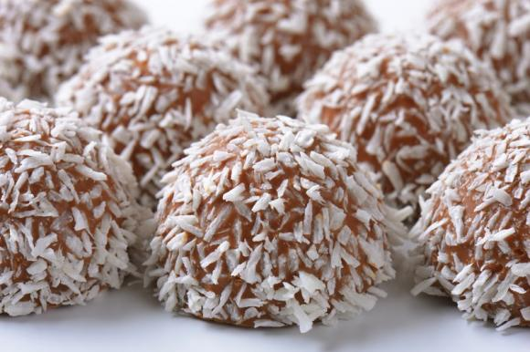 Palline cioccolato e cocco