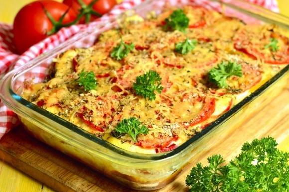 Lasagne di verdure gratinate
