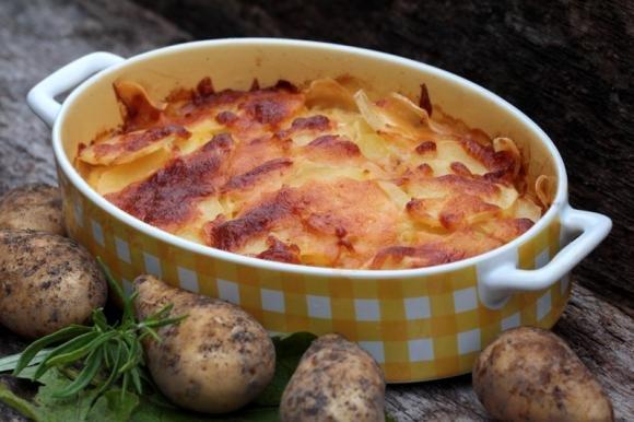 Lasagne di patate cremose