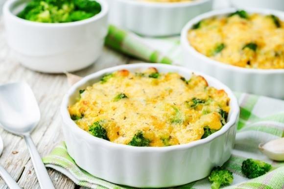 Broccoli gratinati al formaggio