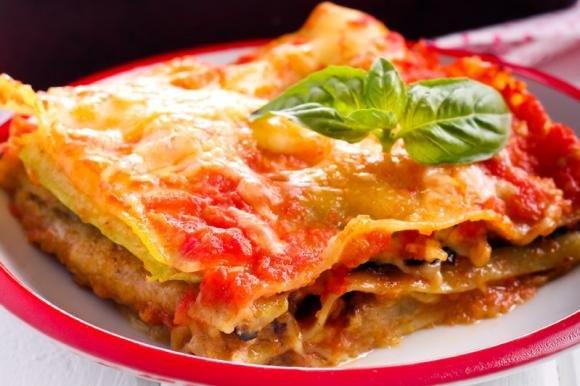 Lasagne zucchine e melanzane