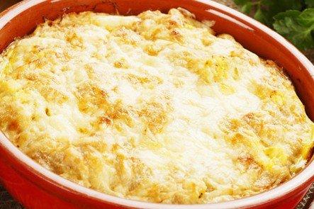 Purè di patate gratinato al forno