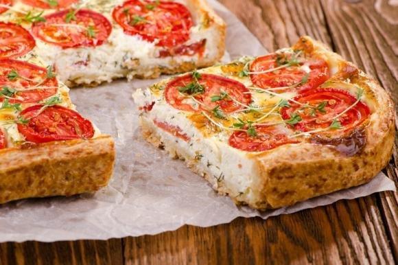 Torta salata pomodoro e ricotta