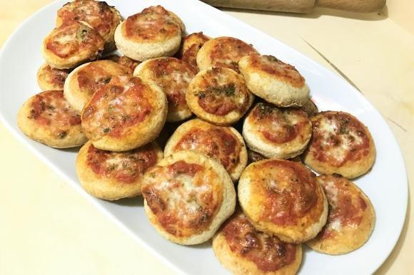 Pizzette margherita semi integrali
