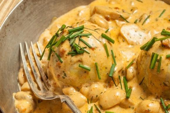 Polpette di patate cremose ai funghi