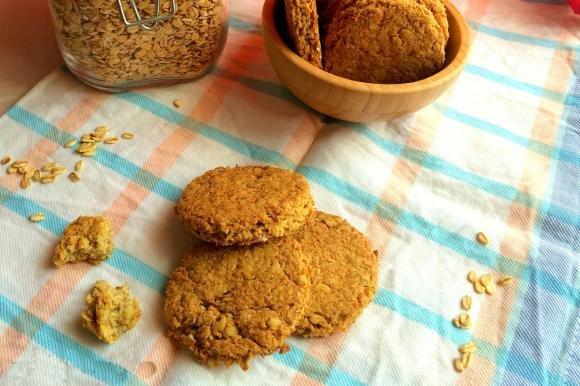 Biscotti vegani cocco e cereali