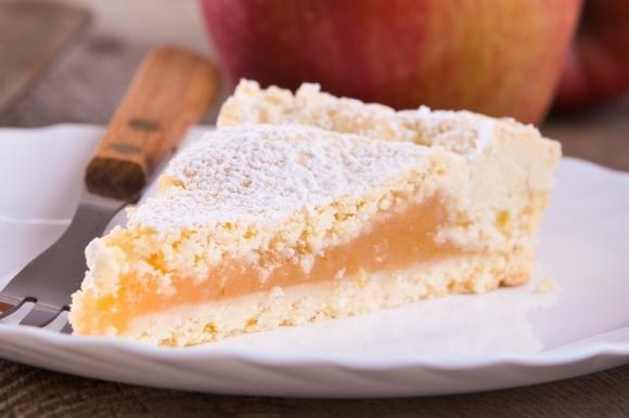 Crostata con marmellata di mele