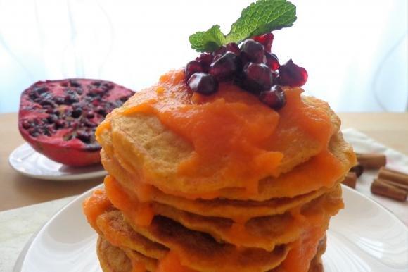 Pancake zucca e mela