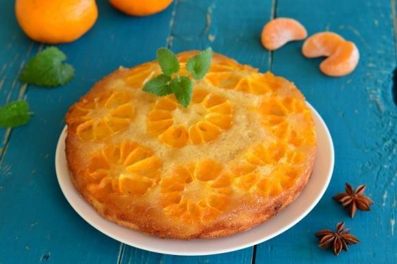 Torta rovesciata ai mandarini