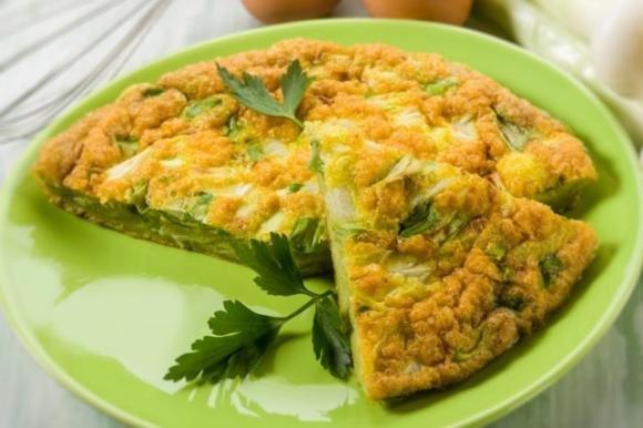 Frittata Di Porri Fidelity Cucina