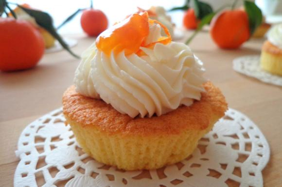 Cupcake mandorle e mandarini senza glutine