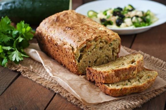 Pane integrale alle zucchine