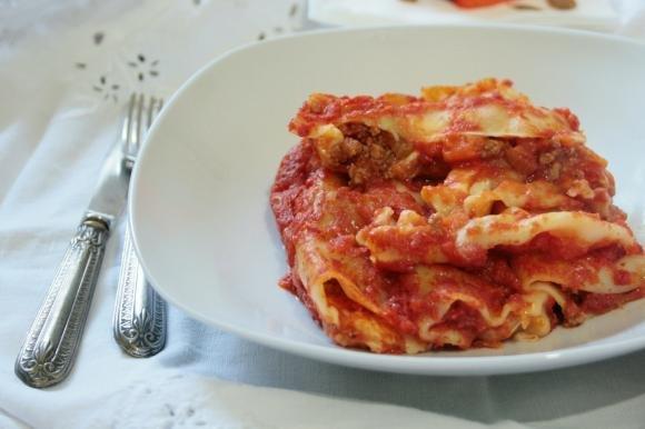 Cannelloni al ragù e zucca