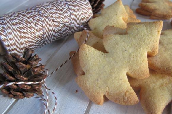 Biscotti di Natale con farina di mais