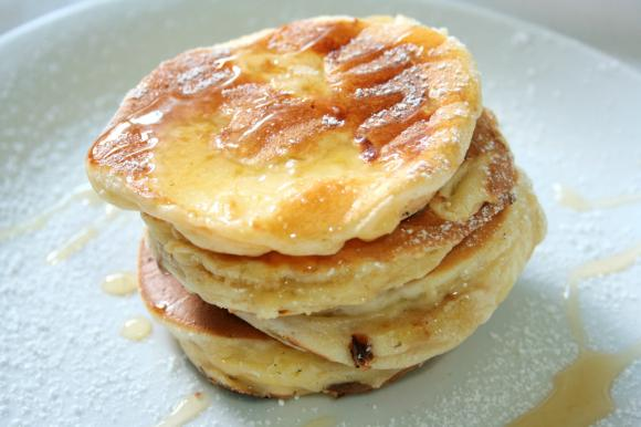 Mini pancake alle mele