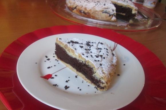 Crostata pere e cioccolato senza glutine