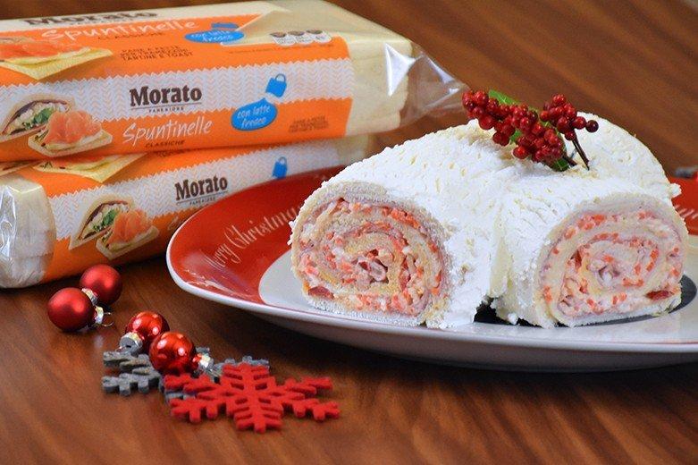 Ricetta Tronchetto Di Natale Salato.Tronchetto Di Natale Salato Fidelity Cucina