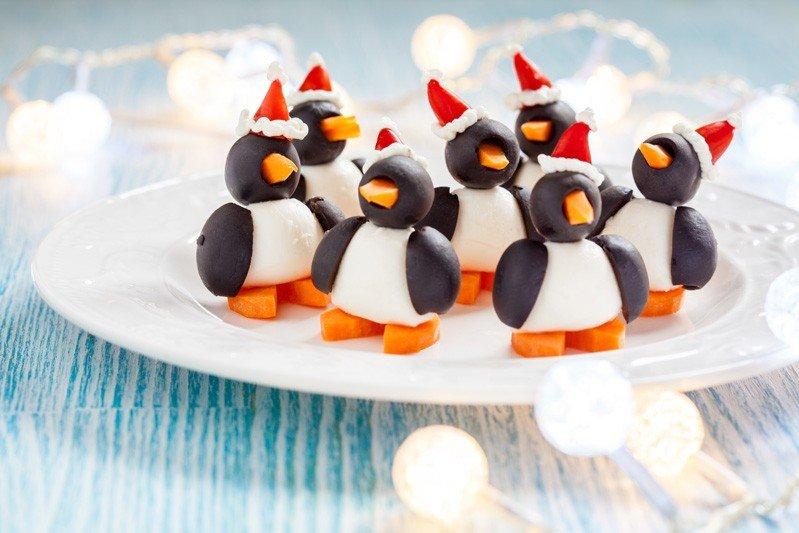 Antipasti Di Natale Pinguini Con Olive E Formaggio.Pinguini Di Olive E Carote Fidelity Cucina