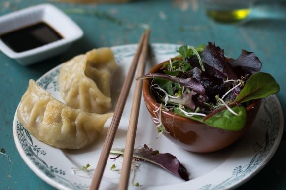 Ravioli di verdure al vapore