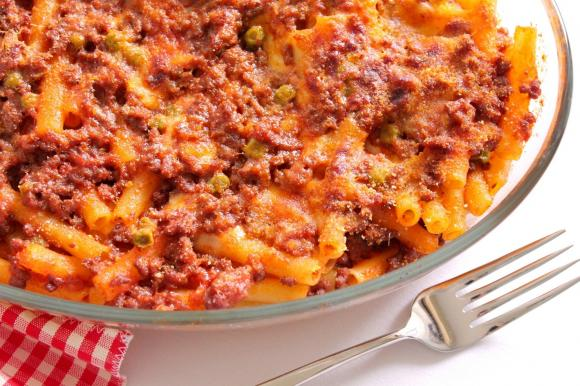 Ziti al forno alla siciliana