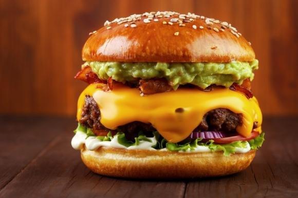 Big Burger con guacamole