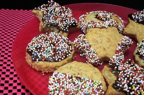 Biscotti integrali arlecchino Bimby