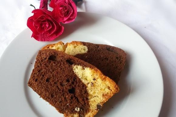 Plumcake bigusto con gocce di cioccolato